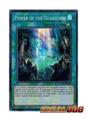 Power of the Guardians - EXFO-EN060 - Super Rare - 1st Edition