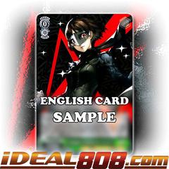 Makoto as QUEEN: The Phantom Tactician [P5/S45-E028 R (Mosaic Gloss)] English