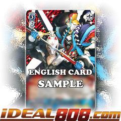 Yusuke as FOX & Goemon [P5/S45-E077 RR (Mosaic Gloss)] English