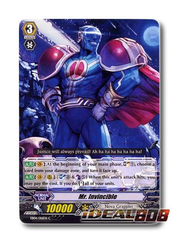 Mr. Invincible - EB04/016EN - C