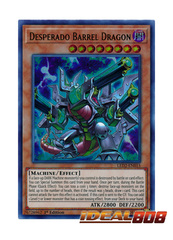 Desperado Barrel Dragon - LED2-EN015 - Ultra Rare - 1st Edition