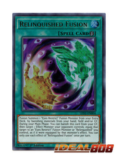 Relinquished Fusion - LED2-EN004 - Ultra Rare - 1st Edition