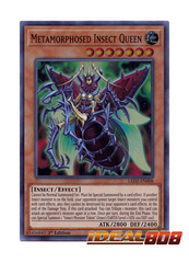 Metamorphosed Insect Queen - LED2-EN008 - Super Rare - 1st Edition