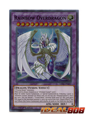 Rainbow Overdragon - LED2-EN037 - Super Rare - 1st Edition