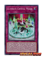 Ultimate Crystal Magic - LED2-EN040 - Super Rare - 1st Edition