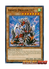Armed Dragon LV7 - LED2-EN027 - Common - 1st Edition