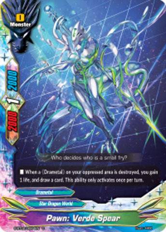 Pawn Verde Spear S Bt020064en C Regular English Future Card