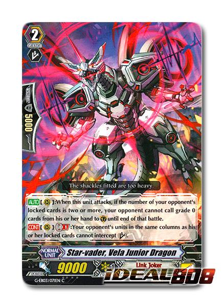 Star-vader Link Joker Cardfight Vanguard Vela Junior Dragon G-EB03//071EN C