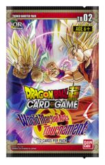 DBS-TB02 World Martial Arts Tournament (English) Dragon Ball Super Themed Booster Pack [12 Cards]