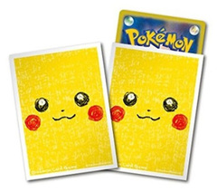 Pokemon Sun & Moon - Card Sleeves (64ct) - Pikachu Face [#226248]