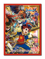 Future Card Buddyfight Collection Vol.37 [Red Thunder Emperor's Awakening] Bushiroad Sleeves (55ct) [#732707]