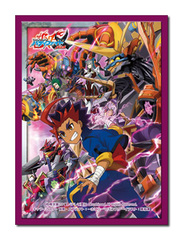 Future Card Buddyfight Collection Vol.38 [Black Autodeity's Awakening] Bushiroad Sleeves (55ct) [#732714]