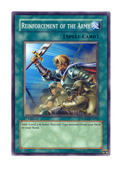 Reinforcement of the Army - SDDE-EN022 - Common - Unlimited Edition