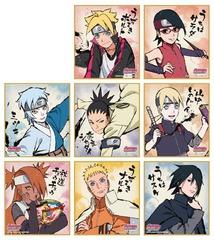 Boruto: Naruto Next Generations Ensky Visual Shikishi Collection Box (Collect ALL 8) [#405045]