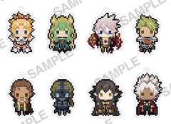 Fate/Apocrypha Kadokawa Petit 8-Bit Strap Collection ver.Red Box (Collect ALL 8) [#217359]