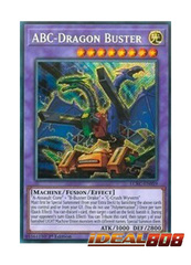ABC-Dragon Buster - LCKC-EN059 - Secret Rare - 1st Edition