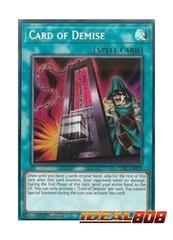 Card of Demise - LCKC-EN029 - Secret Rare - 1st Edition