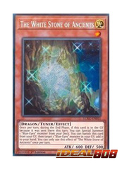 The White Stone of Ancients - LCKC-EN011 - Secret Rare - 1st Edition