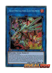 Heavymetalfoes Electrumite - EXFO-EN098 - Secret Rare - Unlimited Edition