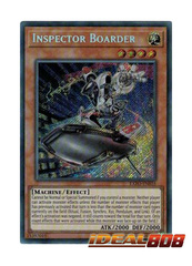 Inspector Boarder - EXFO-EN035 - Secret Rare - Unlimited Edition