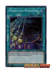 Pendulum Paradox - EXFO-EN061 - Secret Rare - Unlimited Edition