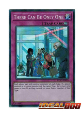 There Can Be Only One - EXFO-EN076 - Super Rare - Unlimited Edition