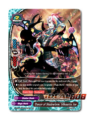 Dancer of Shadowform, Silhouette Joe [X-BT04A-SS03/0008EN RR (FOIL)] English