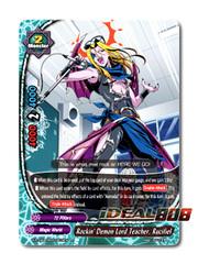 Rockin' Demon Lord Teacher, Rucifiel [X-BT04A-SS03/0019EN R (FOIL)] English