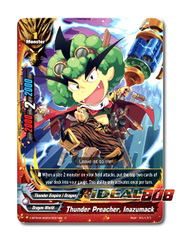 Thunder Preacher, Inazumack [X-BT04A-SS03/0031EN C (FOIL)] English