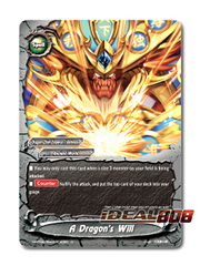 A Dragon's Will [X-BT04A-SS03/0043EN C (FOIL)] English