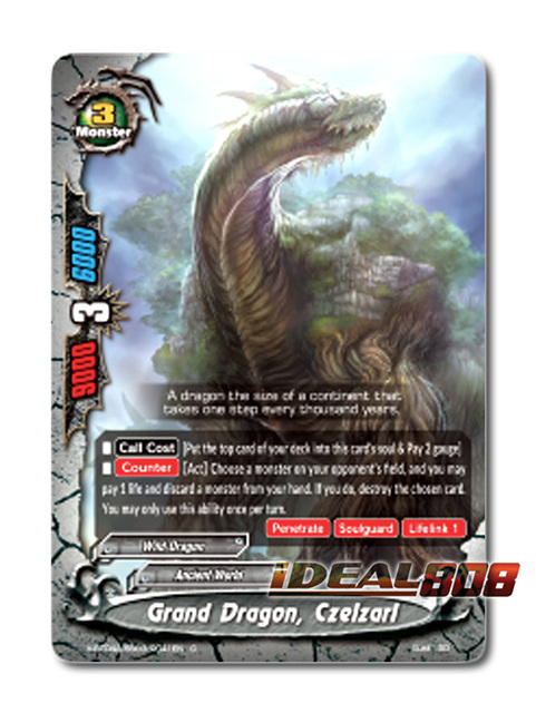 Grand Dragon, Czelzarl [X-BT04A-SS03/0041EN C (Regular)] English