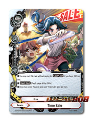 Time Sale [X-BT04A-SS03/0054EN C (FOIL)] English