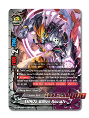 CHAOS Billion Knuckle [X-BT04A-UB03/0008EN RR (FOIL)] English