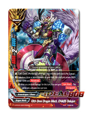 Fifth Omni Dragon Mech, CHAOS Dokujun [X-BT04A-UB03/0026EN R (FOIL)] English