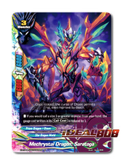 Mechrystal Dragon, Saratoga [X-BT04A-UB03/0028EN R (FOIL)] English