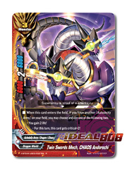 Twin Swords Mech, CHAOS Andorochi [X-BT04A-UB03/0027EN R (Glossy)] English