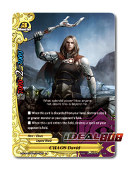 CHAOS David [X-BT04A-UB03/0039EN C (FOIL)] English