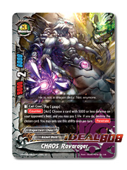 CHAOS Ravarager [X-BT04A-UB03/0037EN C (FOIL)] English