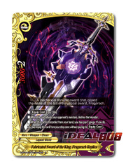 Fabricated Sword of the King, Fragarach Replica [X-BT04A-UB03/0036EN R (FOIL)] English