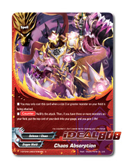 Chaos Absorption [X-BT04A-UB03/0050EN C (FOIL)] English
