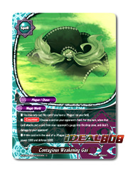 Contagious Weakening Gas [X-BT04A-UB03/0053EN C (FOIL)] English