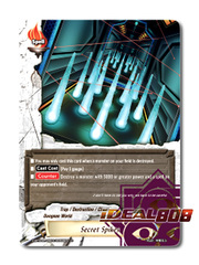 Secret Spikes [X-BT04A-UB03/0056EN C (Regular)] English