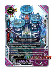 ∞ Infinity the Chaos ∞ [X-BT04A-UB03/S005EN SP (Gold Border)] English