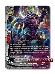 CHAOS Valvaros [X-BT04A-UB03/0064EN Secret (FOIL)] English