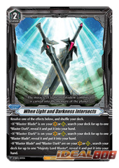 When Light and Darkness Intersects - V-SS04/017EN (FOIL - RRR)