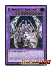 El Shaddoll Shekhinaga - NECH-EN049 - Ultimate Rare - 1st Edition