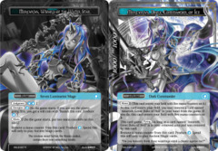 Mercurius, Wizard of the Water Star // Mercurius, Dark Commander of Ice [SDL3-007 UR (Uber Rare Ruler)] English