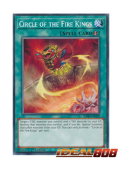 Circle of the Fire Kings - SDSB-EN028 - Common - 1st Edition