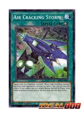 Air Cracking Storm - SP18-EN042 - Starfoil Rare - 1st Edition