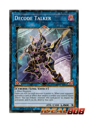 Decode Talker - SP18-EN031 - Starfoil Rare - 1st Edition